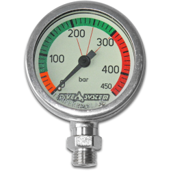 Pressure Gauge 450 bar + Swivel