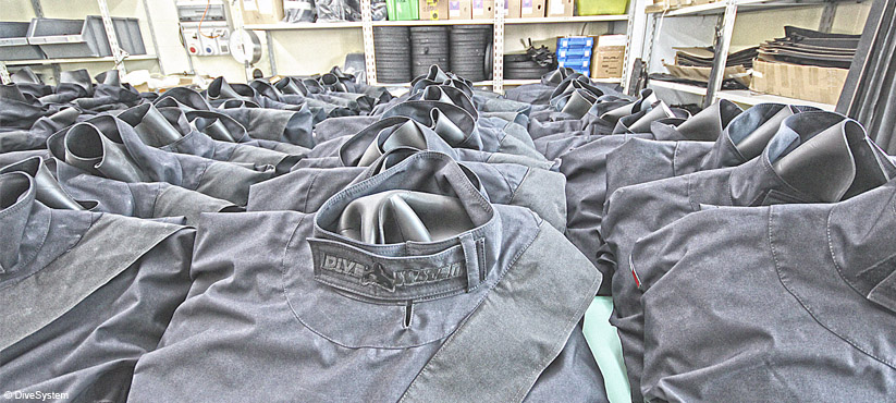 DiveSystem for Militaries and Special Forces: Special Made Dry Suits