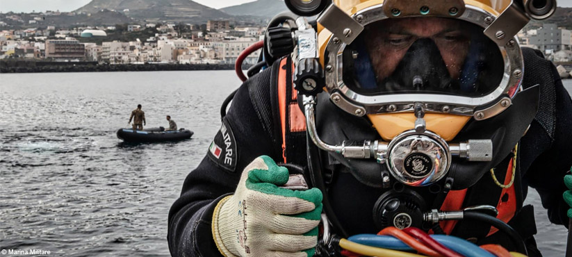DiveSystem for Militaries and Special Forces: Italian Navy Palombari