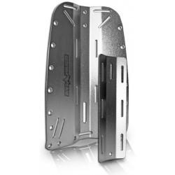 Placca e controplacca in acciaio