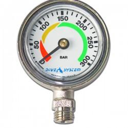 Pressure gauge 300 bar + swivel