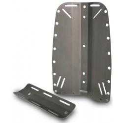 Placca e controplacca in alluminio