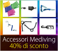 Accessori Mediving per l'immersione