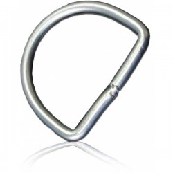 50mm Stainless Steel D-Ring