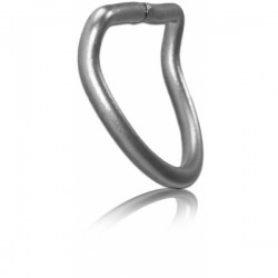50mm Stainless Steel D-Ring, 45° Bended