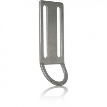 Stainless Steel Weight belt keeper with D-way